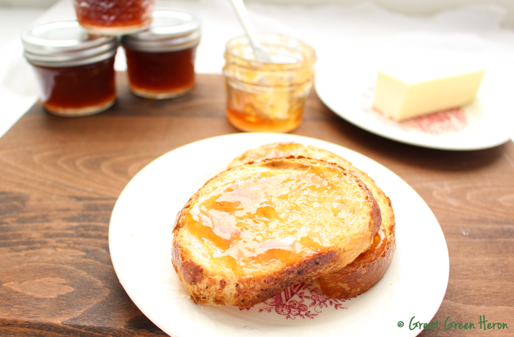 Low-Sugar Blood Orange and Fennel Pollen Jam